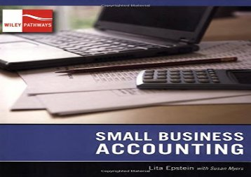 [+][PDF] TOP TREND Wiley Pathways Small Business Accounting  [NEWS]