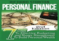 [+][PDF] TOP TREND Personal Finance: 7 Steps To Effective Budgeting and Money Management To Build Personal Wealth  [NEWS]