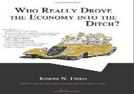 [+]The best book of the month Who Really Drove the Economy Into the Ditch?  [READ]