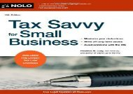 [+][PDF] TOP TREND Tax Savvy for Small Business  [READ]