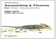 [+]The best book of the month Accounting and Finance for Non-Specialists with MyAccountingLab 7th edition  [READ]