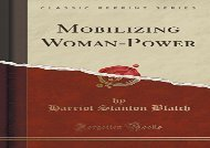 [+][PDF] TOP TREND Mobilizing Woman-Power (Classic Reprint) [PDF]