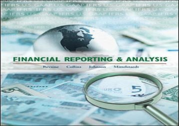 Financial Reporting And Analysis Revsine Pdf