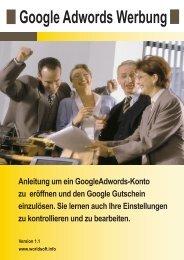 Werbung mit Google AdWords - Unser Marketing