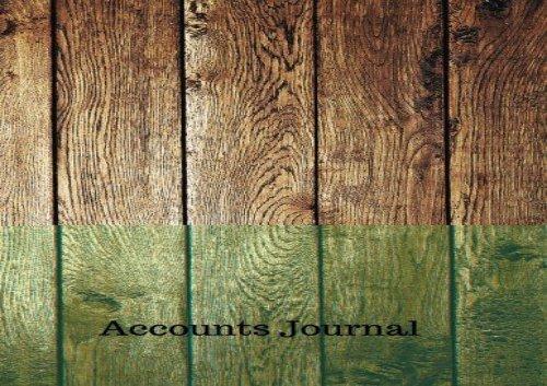 Accounts Book Pdf