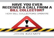 [+]The best book of the month Have You Ever Received a Call from a Bill Collector?  [READ]