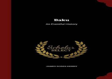 [+]The best book of the month Baku: An Eventful History  [FREE]
