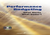 [+]The best book of the month Performance Budgeting (With Cd)  [READ]