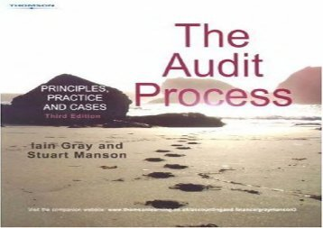 [+]The best book of the month Audit Process  [NEWS]