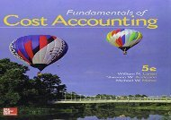 [+][PDF] TOP TREND Gen Combo Fundamentals of Cost Accounting; Connect 1s Access Card  [DOWNLOAD]