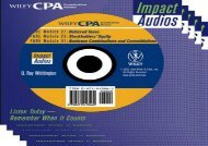 [+][PDF] TOP TREND Cpa Examination Review Impact Audio: Auditing (Wiley CPA Examination Review Impact Audios: Listen Today, Remember When It Counts)  [FREE]