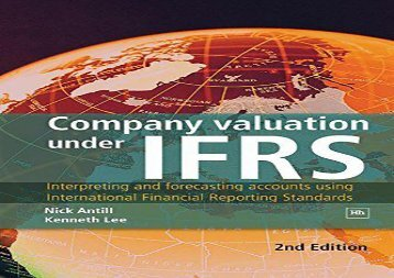 [+][PDF] TOP TREND Company Valuation Under IFRS: Interpreting and Forecasting Accounts Using International Financial Reporting Standards  [FREE]