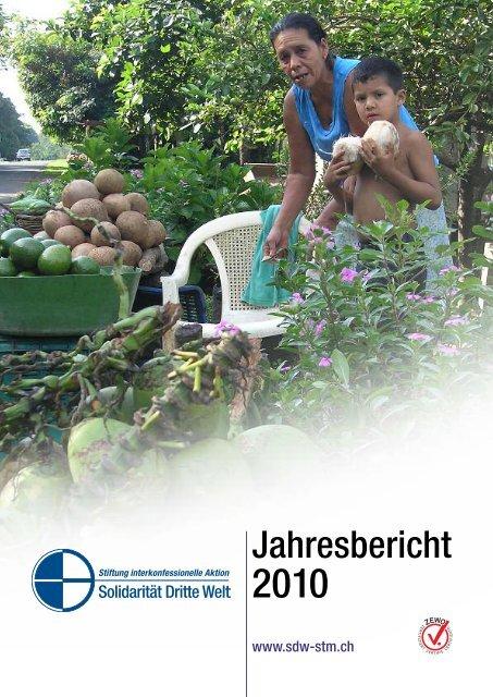 Jahresbericht 2010 - Solidarität Dritte Welt