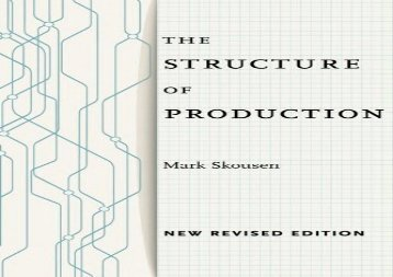 [+][PDF] TOP TREND The Structure of Production: New Revised Edition  [READ]