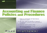 [+][PDF] TOP TREND Accounting and Finance Policies and Procedures (w url): (with URL)  [FREE]