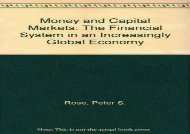 [+][PDF] TOP TREND Money and Capital Markets: The Financial System in an Increasingly Global Economy  [FULL]
