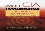 [+]The best book of the month Wiley CIA Exam Review: Business Analysis and Information Technology (Wiley CIA Exam Review Series)  [DOWNLOAD]