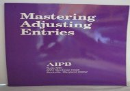 [+]The best book of the month Mastering Adjusting Entries (Professional Bookkeeping Certification)  [FREE]