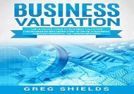[+][PDF] TOP TREND Business Valuation: The Ultimate Guide to Business Valuation for Beginners, Including How to Value a Business Through Financial Valuation Methods  [DOWNLOAD]