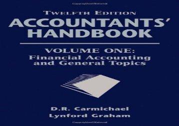 [+][PDF] TOP TREND Accountants  Handbook: Financial Accounting and General Topics: 1  [FREE]