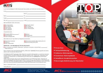 Anmeldeformular POSitiv-Box - MCS Marketing und Convenience ...