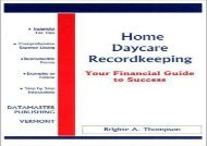 [+][PDF] TOP TREND Home Daycare Recordkeeping: Your Financial Guide to Success  [FULL]