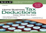 [+][PDF] TOP TREND Home Business Tax Deductions: Keep What You Earn  [FREE]