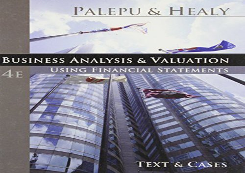 PDF] TOP TREND Business Analysis and Valuation: Using Financial