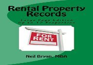 [+][PDF] TOP TREND Rental Property Records Book - Larger Edition  [DOWNLOAD]