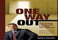 [+]The best book of the month One Way Out: How to Grow, Protect, and Exit from Your Business  [NEWS]