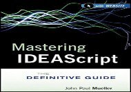 [+][PDF] TOP TREND Mastering IDEAScript: The Definitive Guide, with Website  [DOWNLOAD]