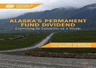 [+]The best book of the month Alaska s Permanent Fund Dividend: Examining its Suitability as a Model (Exploring the Basic Income Guarantee series)  [READ]