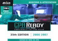 [+]The best book of the month Bisk CPA Ready: Auditing   Attestation (Cpa Comprehensive Exam Review. Auditing and Attestation)  [DOWNLOAD]
