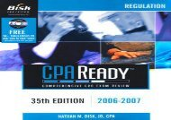 [+]The best book of the month Bisk CPA Ready: Regulation (Cpa Comprehensive Exam Review. Regulation)  [READ]