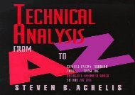 [+][PDF] TOP TREND Technical Analysis from A to Z: Covers Every Trading Tool.from the Absolute Breadth Index to the Zig Zag [PDF]