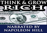 [+][PDF] TOP TREND Think   Grow Rich - Lectures by Napoleon Hill [MP3]  [FREE]
