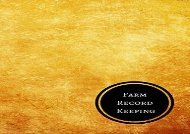 [+]The best book of the month Farm Record Keeping: Farm Record Log  [NEWS]