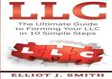 [+][PDF] TOP TREND LLC: The Ultimate Guide to Forming Your LLC in 10 Simple Steps [PDF]