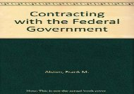 [+][PDF] TOP TREND Contracting with the Federal Government  [READ]