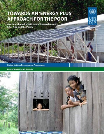 'Energy Plus' Approach for the Poor - United Nations Development ...