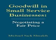 [+]The best book of the month Goodwill in Small Service Businesses: Negotiating a Fair Price  [FREE]