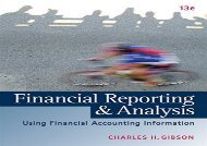 [+][PDF] TOP TREND Financial Reporting and Analysis (with Thomsonone Printed Access Card)  [FREE]