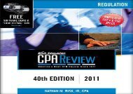 [+][PDF] TOP TREND Bisk Comprehensive CPA Review: Regulation [With CDROM and DVD] [PDF]