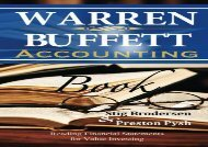 [+]The best book of the month Warren Buffett Accounting Book: Reading Financial Statements for Value Investing [PDF]