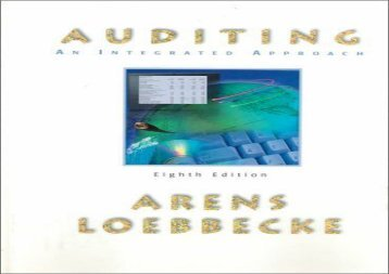 [+][PDF] TOP TREND Auditing: An Integrated Approach  [FREE]