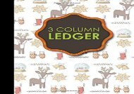 [+]The best book of the month 3 Column Ledger: Accountant Notepad, Accounting Paper, Ledger Notebook, Christmas Cover, 8.5