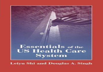 [+]The best book of the month Essentials of the Us Health Care System  [FREE]