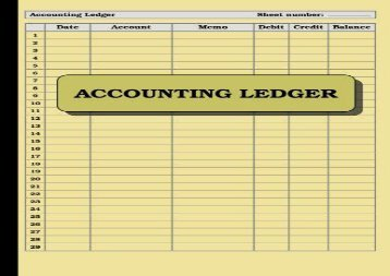 [+][PDF] TOP TREND Accounting Ledger: 120 pages: Size = 8.5 x 11 inches (double-sided), perfect binding, non-perforated [PDF]