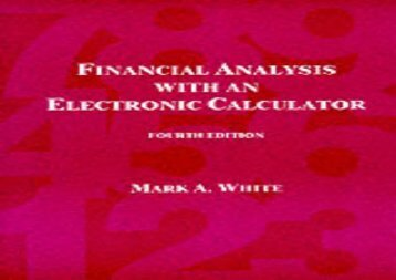 [+][PDF] TOP TREND Financial Analysis with an Electronic Calculator  [NEWS]
