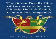 [+]The best book of the month The Seven Deadly Sins of Business Valuation: Closely Held   Family Controlled Companies  [FULL]